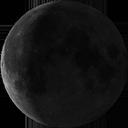 Полумесяц убывающей Луны